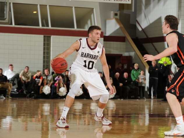 Patrick Steeves '16 led all scorers with 25 points against Princeton, helping the Crimson to its biggest win of the Ivy League season.