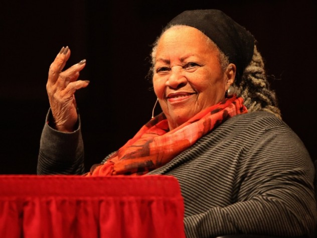 toni morrison writing style Author's study project (toni morrison) toni, returned to howard toni morrison's writing style is easily distinguishable due to her unique use of language.