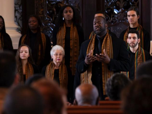 Photo of the Kuumba Singers.