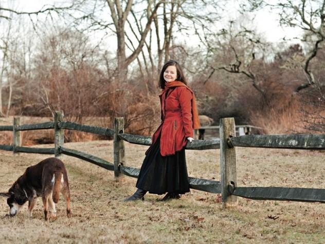 Pulitzer Prize winner Geraldine Brooks at home on Martha's Vineyard, one setting in her new novel