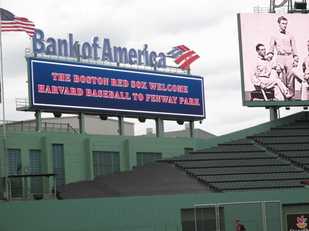 A welcome from the Red Sox to the Crimson