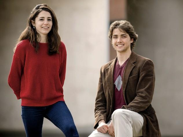 Sally Scopa and Ryan Christ