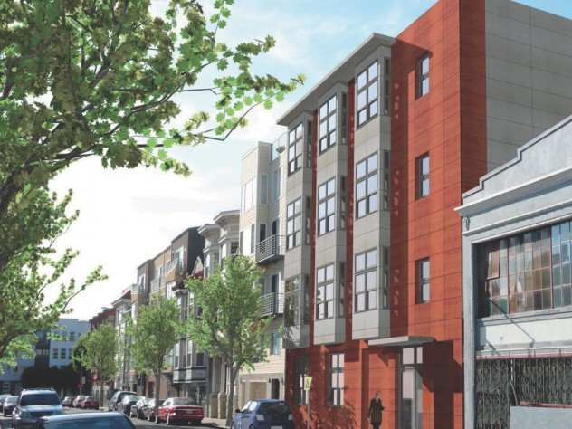 """The """"SmartSpace"""" micro-apartment complex will hold 23 units, each 285 to 310 square feet."""