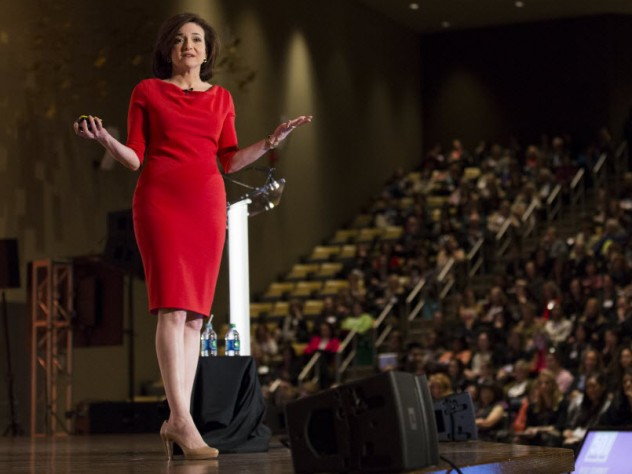 <i>New York Times</i> best-selling author, HBS alumna, and Facebook COO Sheryl Sandberg was the keynote speaker at the recent W50 Summit, a two-day conference celebrating 50 years of women in the Harvard M.B.A. program.