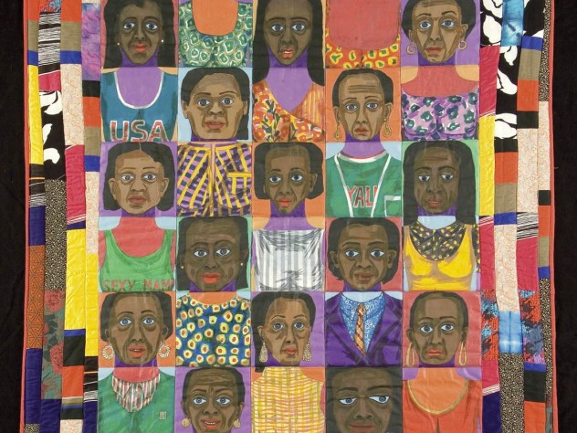 new ringgold women In a women in the arts show, ringgold's '60s works still challenge us to  their  work be shown at new york's whitney museum of american art.