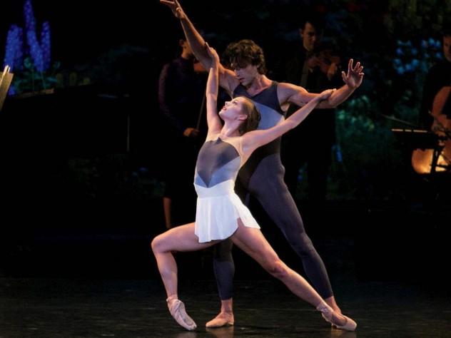 "Still from ballet ""Solitaire"""
