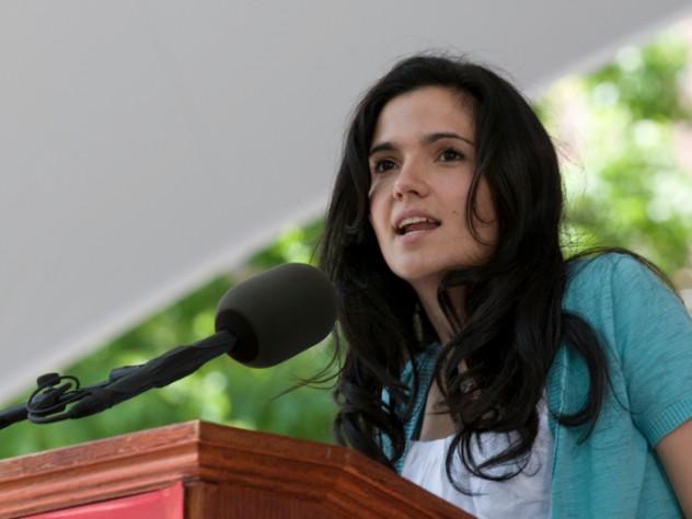 Harvard Orator Laura Jaramillo
