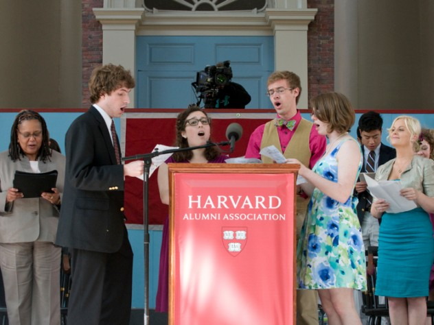 The 2011 Class Ode: Andrew Gordon Brownjohn, Bridget Haile, Hannah Marie Horowitz, and Matthew Dennis Trout