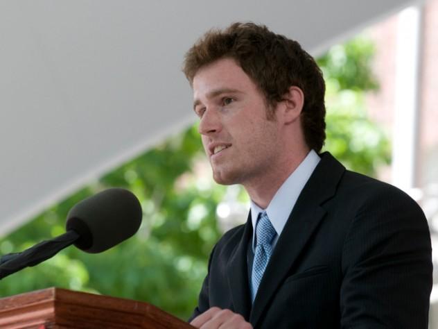 Harvard Orator Timothy James Lambert
