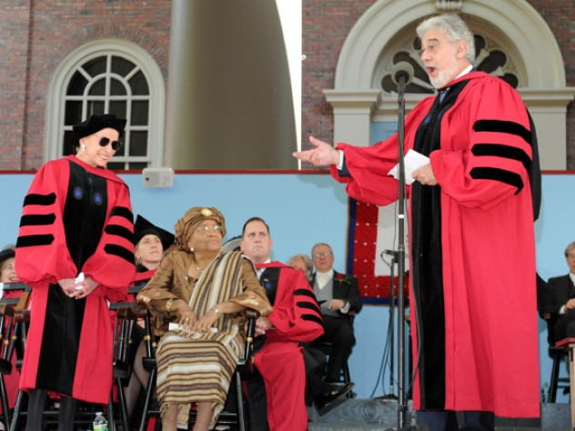 Plácido Domingo and Justice Ruth Bader Ginsburg