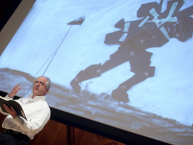 William Kentridge gives this year's first Norton Lecture in Sanders Theatre on March 20.
