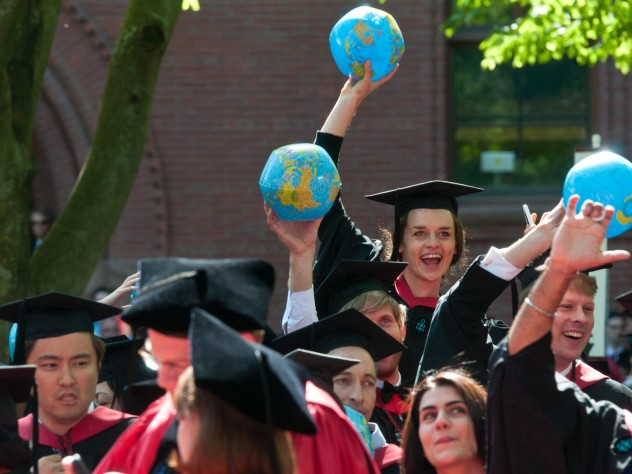 Harvard Kennedy School graduates, ready to take on the world