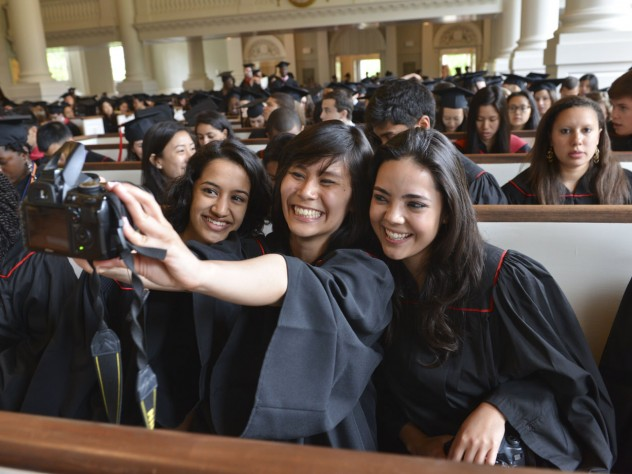 From left: Raina Gandhi, Jen Zhu, and Maria Barragan-Santana