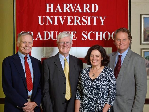 Robert Richardson, Gordon Wood, Louise Ryan, and Wade Davis