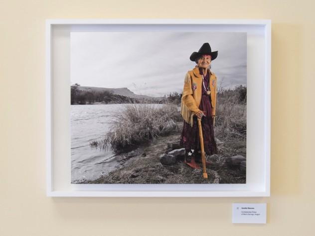 A portrait of a tribal elder