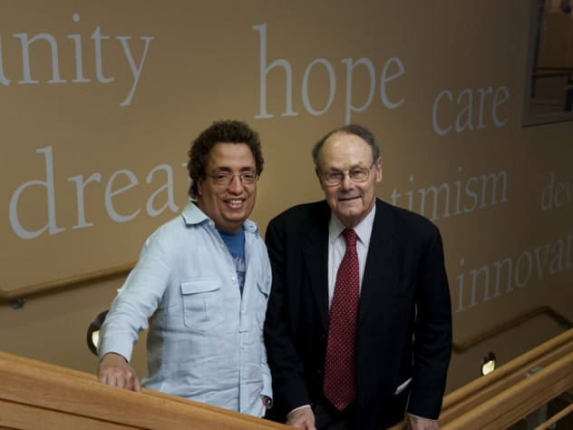 Patient and physician at Children's Hospital Boston