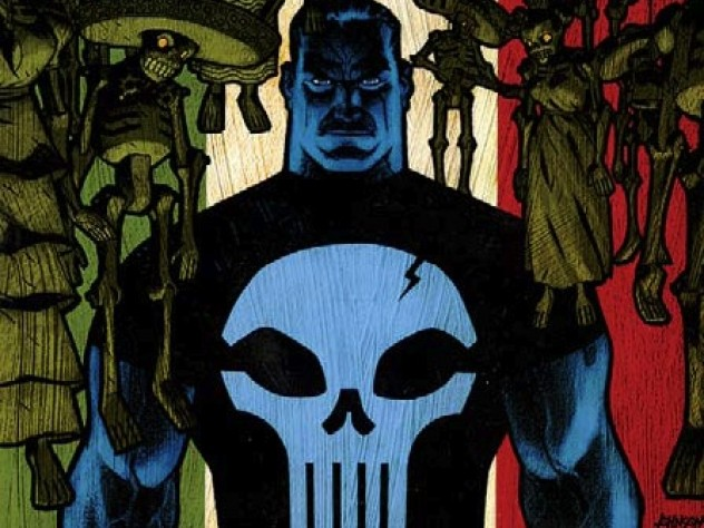 """The Punisher"" is the classic comic-book antihero."