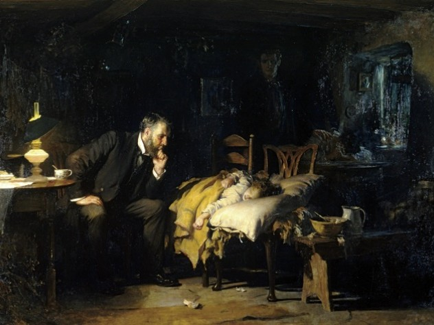 Sir Luke Fildes, <i>The Doctor</i> (1891)