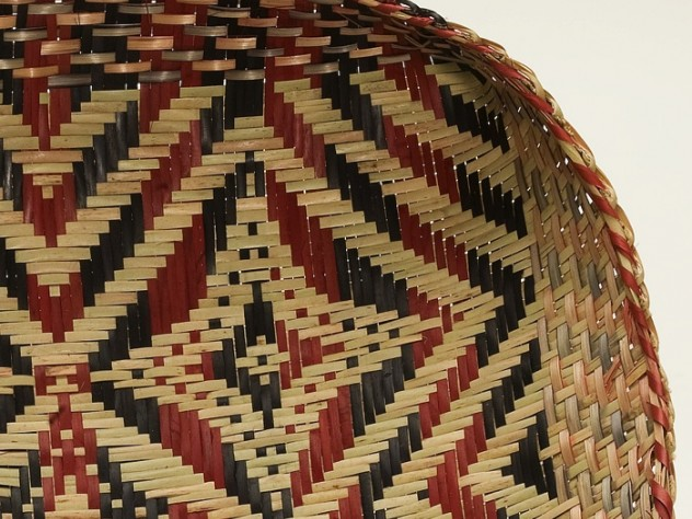 A detail of the previous basket