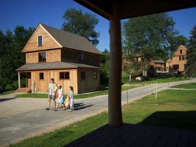 Porches at Nubanusit promote neighborliness