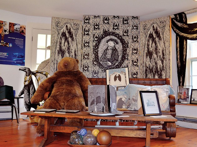 A scene at the Edward Gorey House