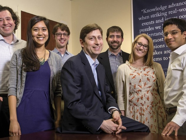 Tobin team staff members (left to right): John Cisternino, Rebecca Chan, Robert Ward, David A. Moss, Jonathan Decker, Katie Nihill, and Sidharth Shah