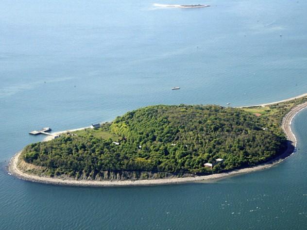 Boston Harbor Islands Ferry Summer