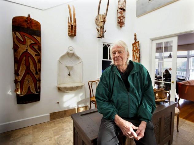 Robert Gardner in his Cambridge home, October 2013