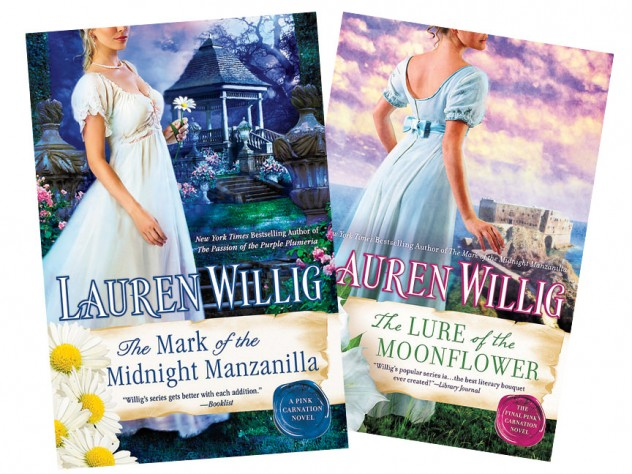 The eleventh and twelfth novels in the Pink Carnation series