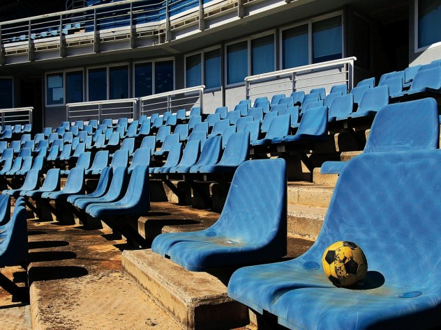 Olympic aftermath: the 2004 Athens softball venue, derelict a decade later