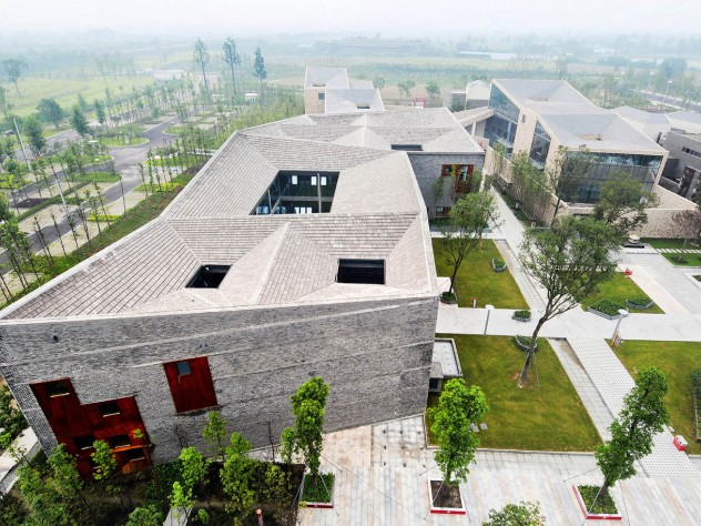 """One of Höweler and Yoon's overseas projects is """"Sky Courts,"""" a building in Chengdu, China."""