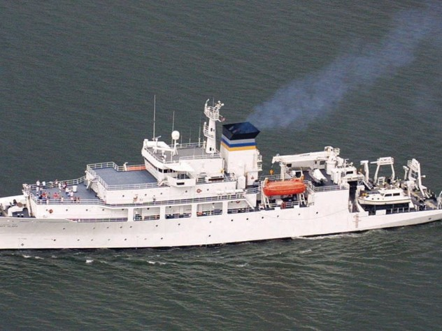In posthumous recognition of her service, the U.S. Navy in October 2000 launched the 300-foot USNS <i>Mary Sears,</i> one of seven such vessels that continuously probe the oceans.