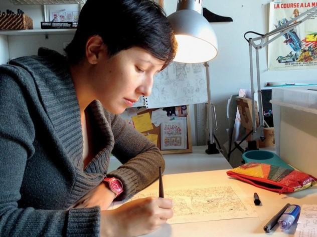 Illustrator Andrea Tsurumi, on making art to