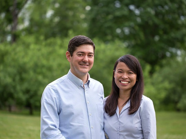 Eric Beerbohm and Leslie Duhaylongsod