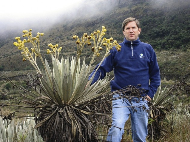 Cristián Samper, director of the  Smithsonian National Museum of  Natural History, lectures on October 27