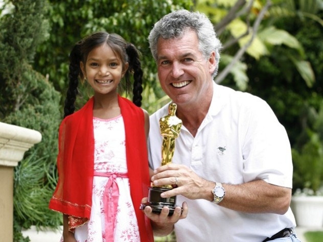 Pinki Sonkar, whose surgery took place in March 2007, celebrated with Mullaney this past February, the day after <em>Smile Pinki,</em> a documentary about Smile Train's work, won an Oscar.