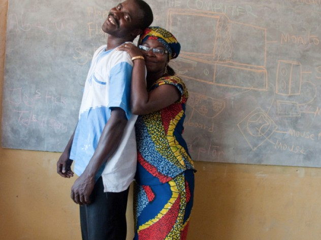 Samuel and Rita Quaye are the proprietors of Samrit Academy. (Its name is a combined version of their first names.) Mrs. Quaye owned plenty of land and wanted to use it for something beneficial to her community, and the couple decided to use their resources to cater to the growing demand for high-quality education for local children.