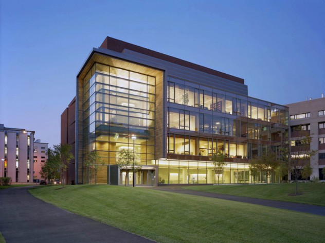 "Northwest Research Building, Cambridge campus, 2008 (<a href=""http://harvardmagazine.com/2007/05/construction-gallery.html"">View building construction photographs</a>)"
