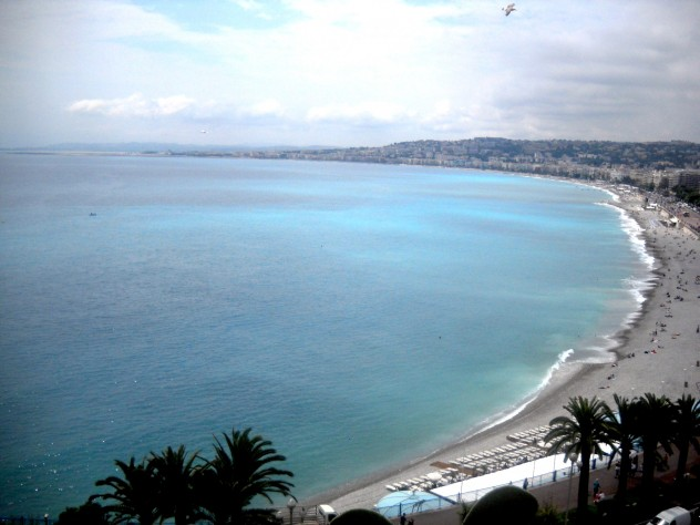 The Mediterranean at Nice.