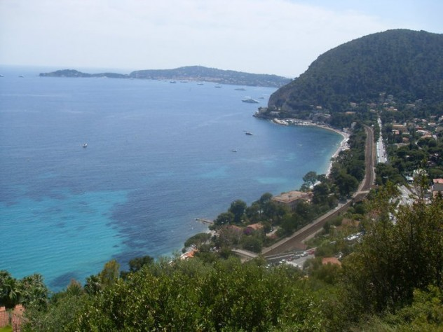 The coastline at Eze-sur-Mer