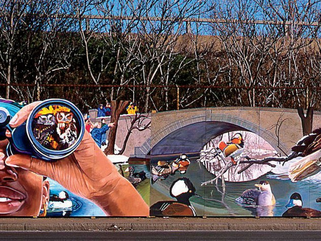 Details from the <i>Mystic River Mural</i> Project