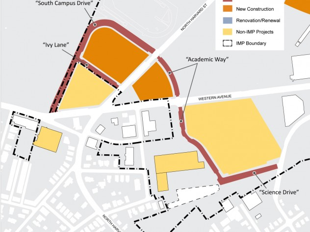 New streets in the 10-year plan