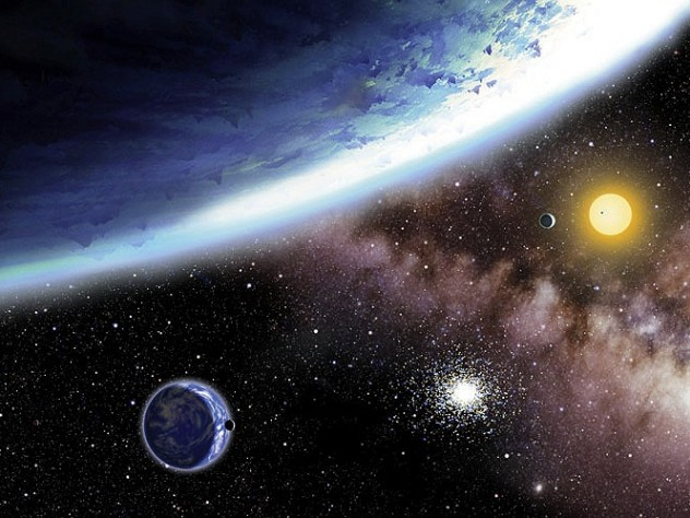 "Discover new ""alien worlds"" (depicted at left) through lectures at the Harvard-Smithsonian Center for Astrophysics."