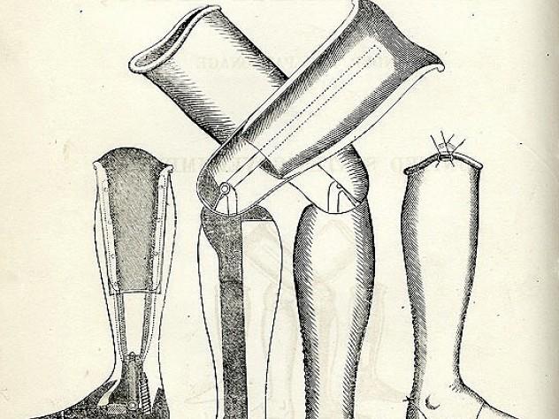 A Salem Leg Company advertisement