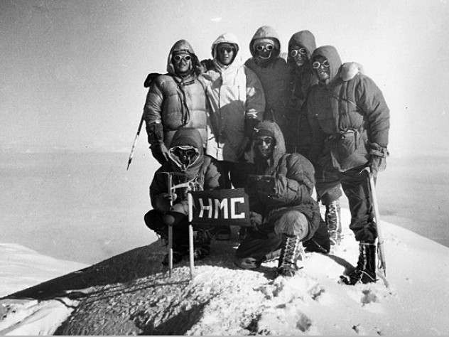 The Harvard team reached the South Summit of Mount McKinley—altitude 20,320 feet—on July 19.