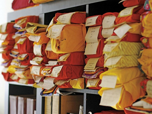 Tibetan texts on loan, awaiting scanning at the Tibetan Buddhist Resource Center
