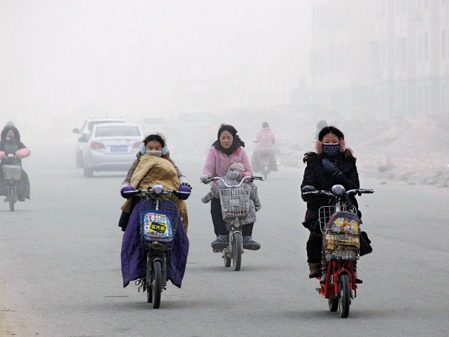 Air pollution in Beijing, December 2013