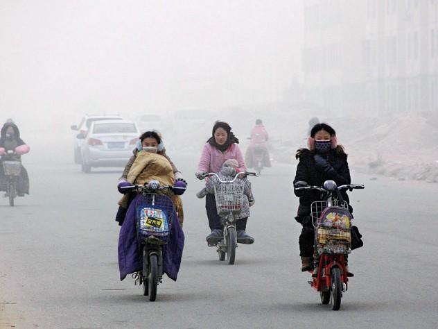 Air pollution in Beijing, December 2013