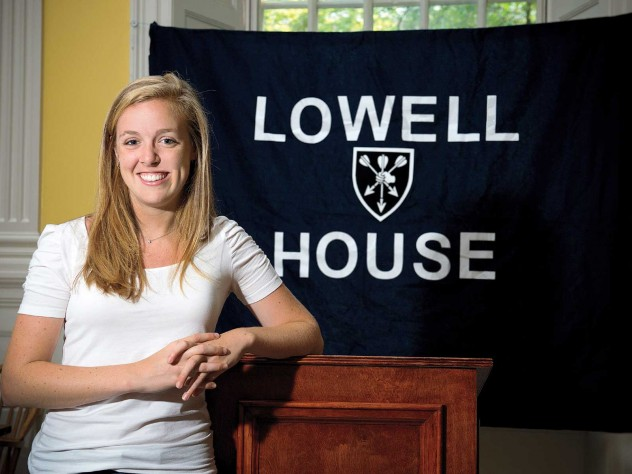 Talking about her father's coma, Meghan Cleary '11 brought Lowell listeners to stunned silence.