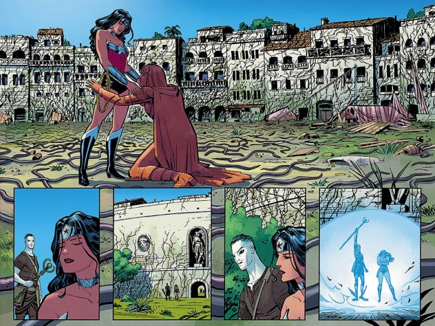 "Interior page from ""Wonder Woman"" by Cliff Chiang"